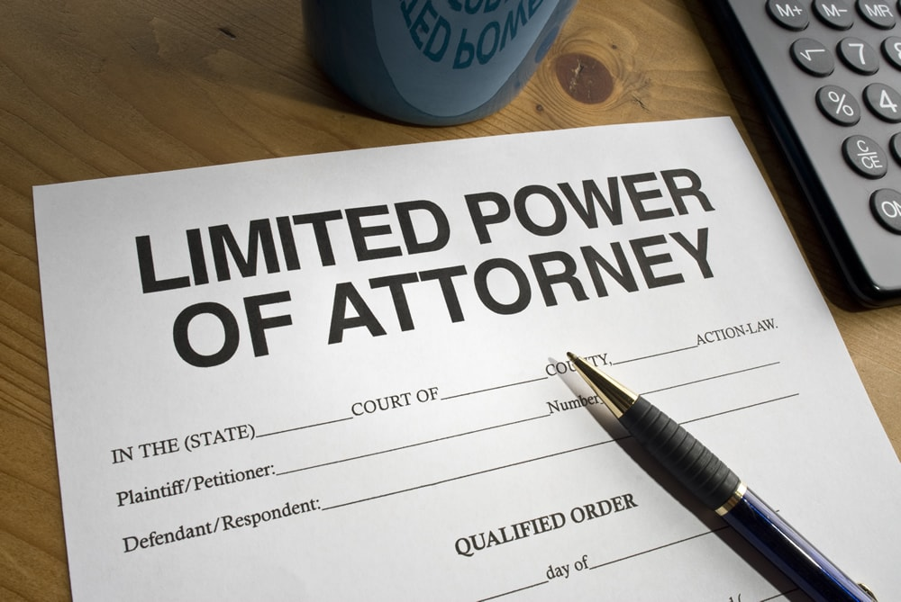 "Saying ""NO"" to Power of Attorney Duty"